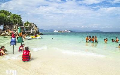 ทัวร์เกาะพีพี เกาะไข่ โดยเรือใหญ่