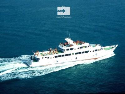 ตั๋วเรือเที่ยวเกาะพีพี