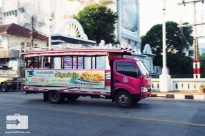 local bus at phuket