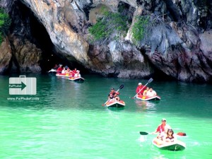 beautiful cave at phang nga bay2