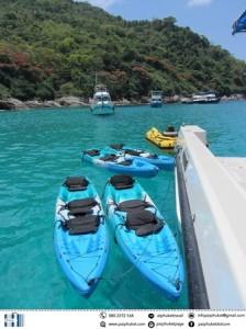 kayaking2 catamarn to Maiton and racha island sunset tour